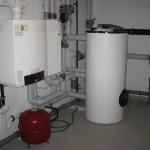 Gasanlage Acht-Familien-Haus