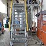 Umbau Heizungsverteiler und neuer Stahlbühne